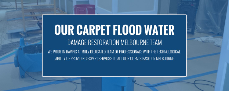 Carpet Flood Water Damage Restoration Research