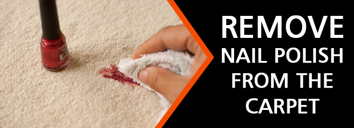 Best Way to Remove Nail Polish from the Carpet