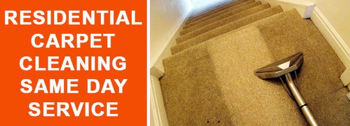 Residential Carpet Cleaning Same day services