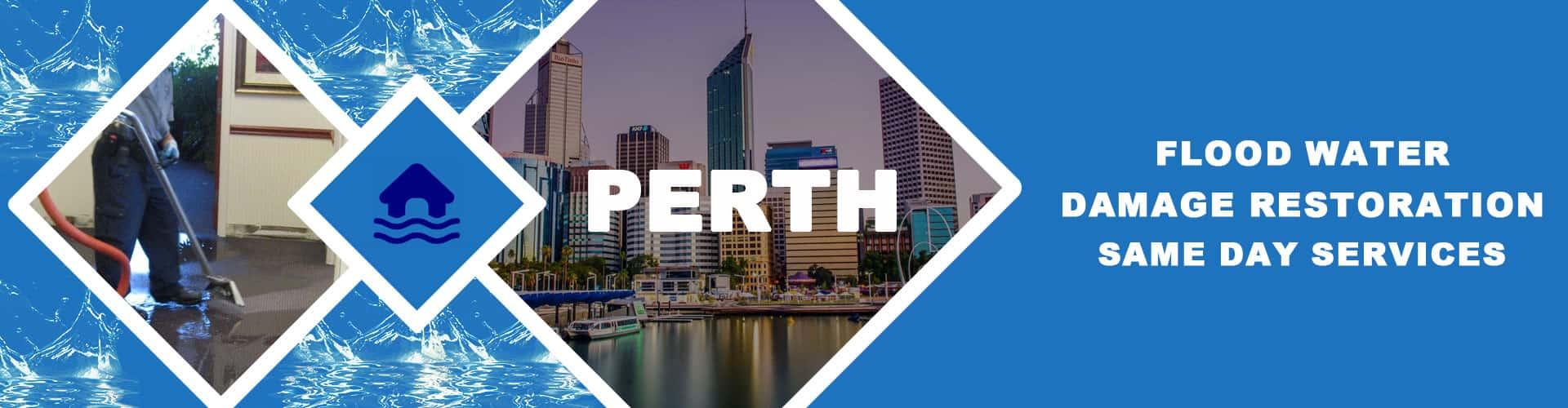 Carpet Flood Water Damage Restoration Perth