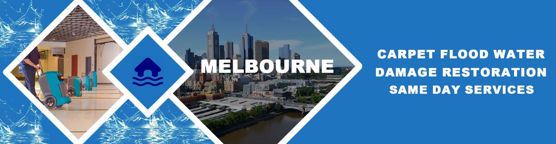 Carpet Flood Water Damage Restoration Services Melbourne